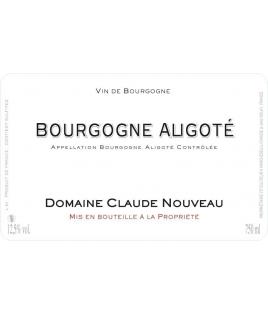 Bourgogne Aligoté 2007, Claude Nouveau