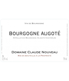 Bourgogne Aligoté 2008, Claude Nouveau