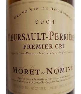 Meursault-Perrières 1er Cru 2007, Moret-Nominé