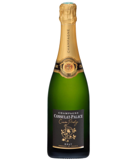 Champagne Brut Prestige Consulat Palace, bouteille