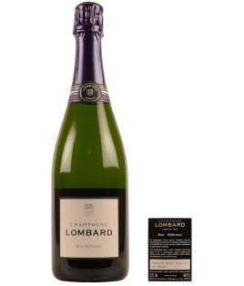 Brut Référence, Champagne Lombard, 1/2 bouteille