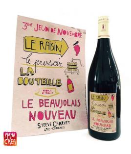 Beaujolais Nouveau, Steeve Charvet, 2019