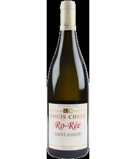 Ro-Rée blanc 2018, domaine Louis Cheze, Saint-Joseph, 1/2 bouteille