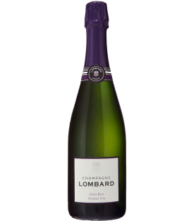 Extra-Brut Premier Cru, Champagne Lombard, 1/2 bouteille