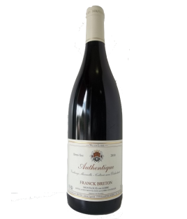 Authentique 2010, Franck Breton, Montlouis demi-sec