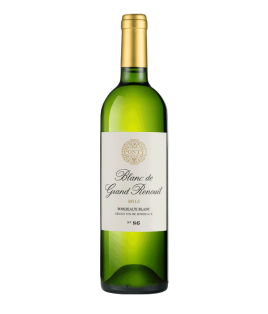 Blanc de Grand Renouil 2016, Michel Ponty Bordeaux