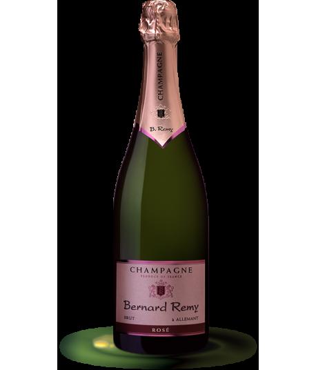 Champagne Rosé Bernard Remy, bouteille