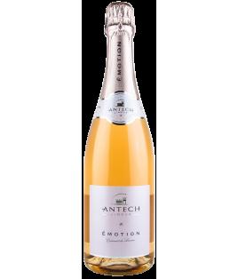 Émotion 2015, maison Antech, Crémant de Limoux Brut rosé