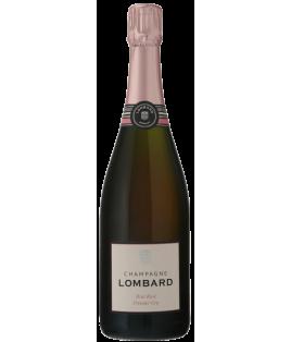 Brut Rosé Premier Cru, Champagne Lombard