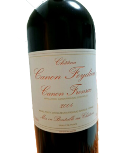 Canon Fronsac Château Canon-Feydieu, 2004