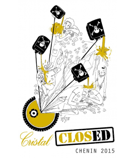 Closed Cristal blanc 2015, Clos Cristal, Saumur